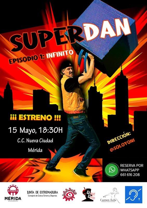 SuperDan – Episodio 1: Infinito