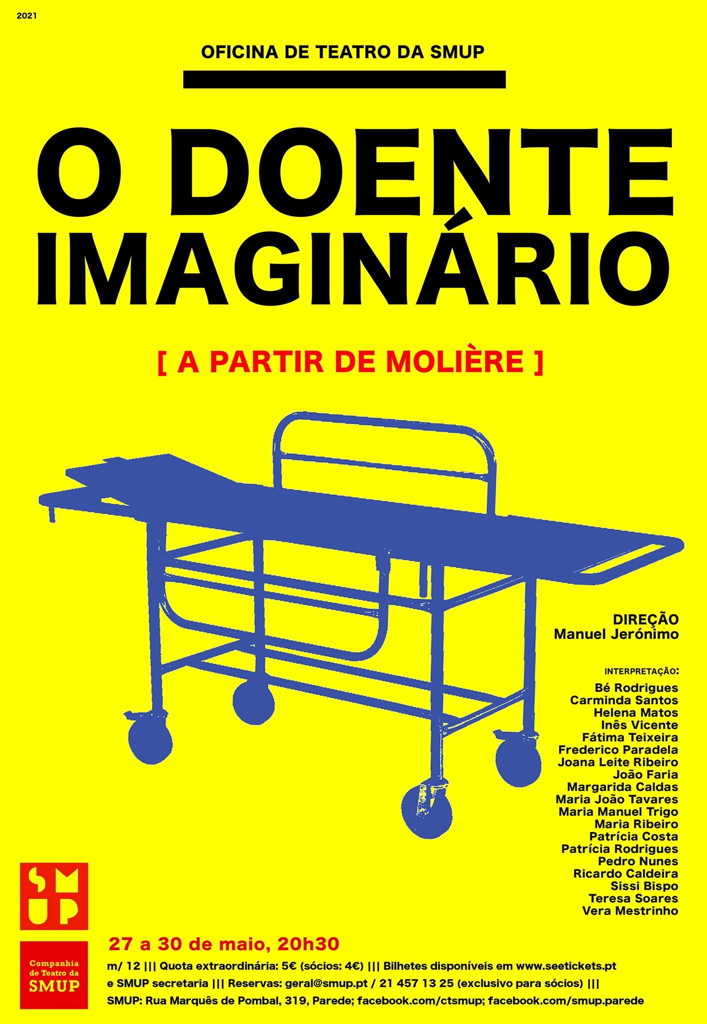 O Doente Imaginário - Apresentação final Oficina de Teatro da SMUP