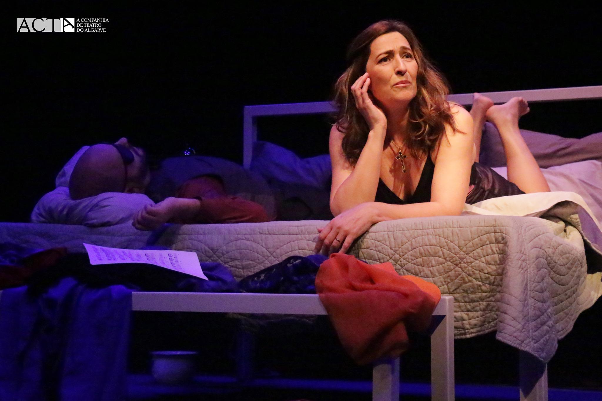 A Noite de Molly Bloom - A Companhia de Teatro do Algarve (ACTA)