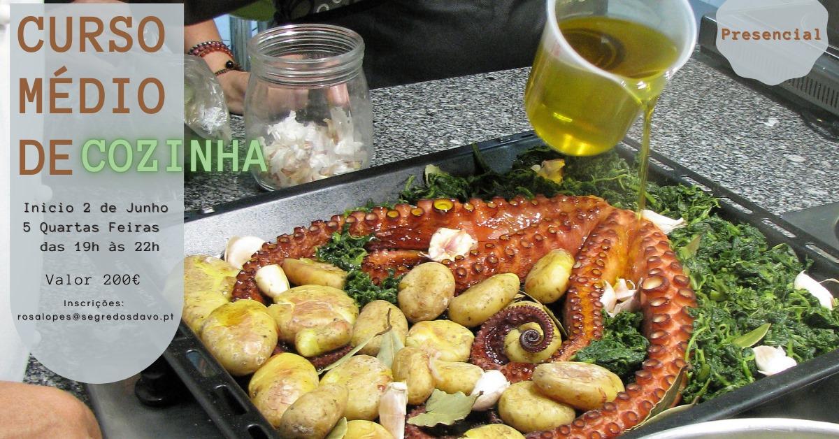 Curso Médio de Cozinha -  Presencial