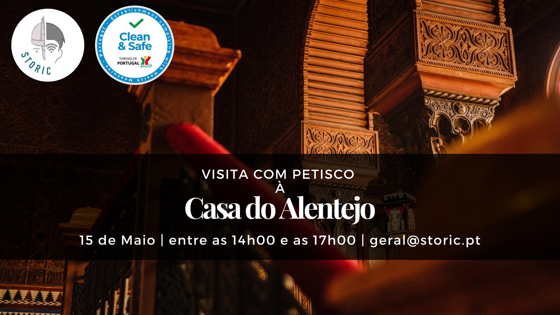 Visita com Petisco à Casa do Alentejo