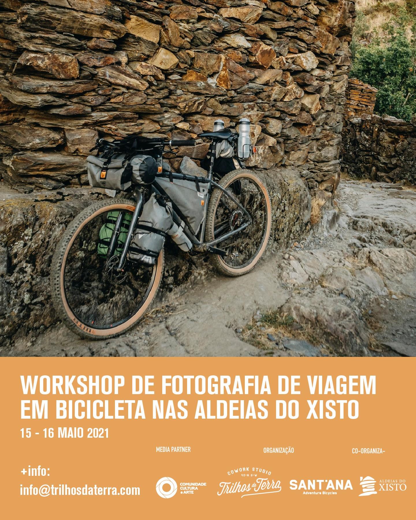 Workshop de Fotografia de Viagem em Bicicleta nas Aldeias do Xisto