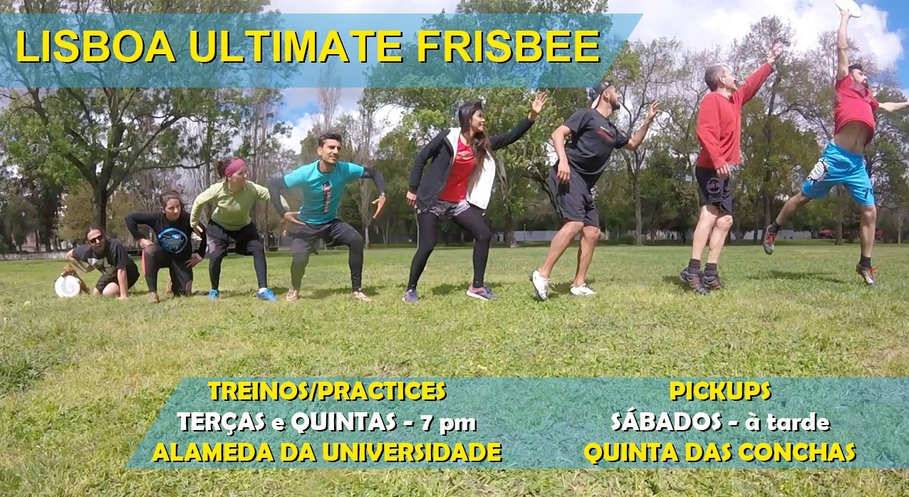 Lisbon Ultimate Frisbee Training - 12 (2021)