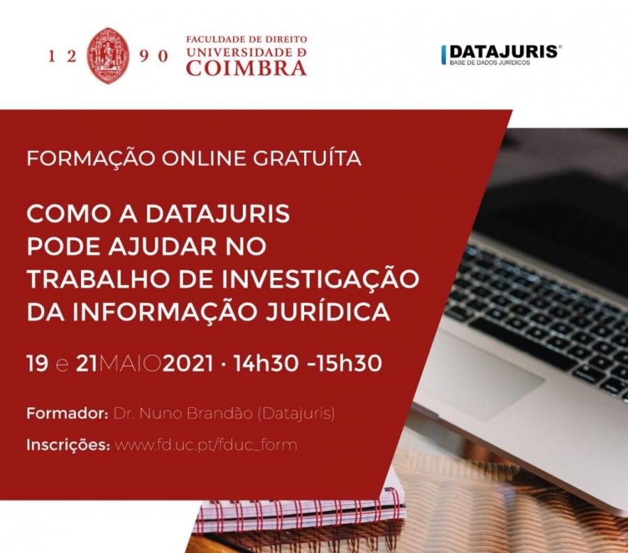 Formação Online Gratuita – Como a Datajuris Pode Ajudar no Trabalho de Investigação da Informação Jurídica