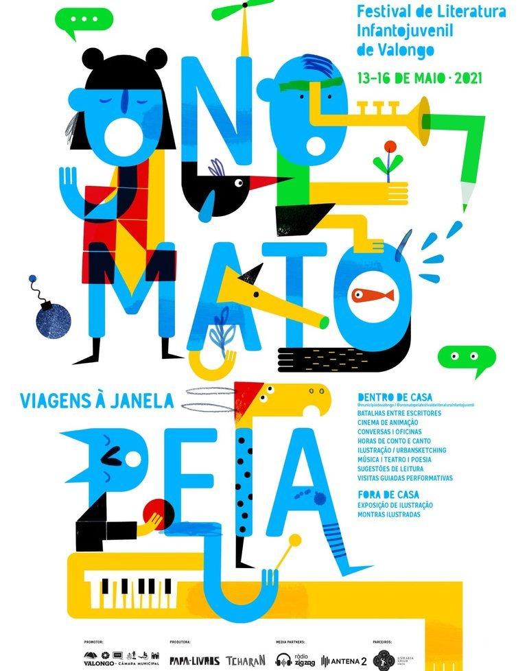 Onomatopeia - Festival de Literatura Infantojuvenil de Valongo