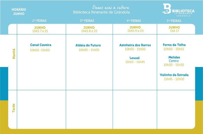 Biblioteca Itinerante - JUN'21