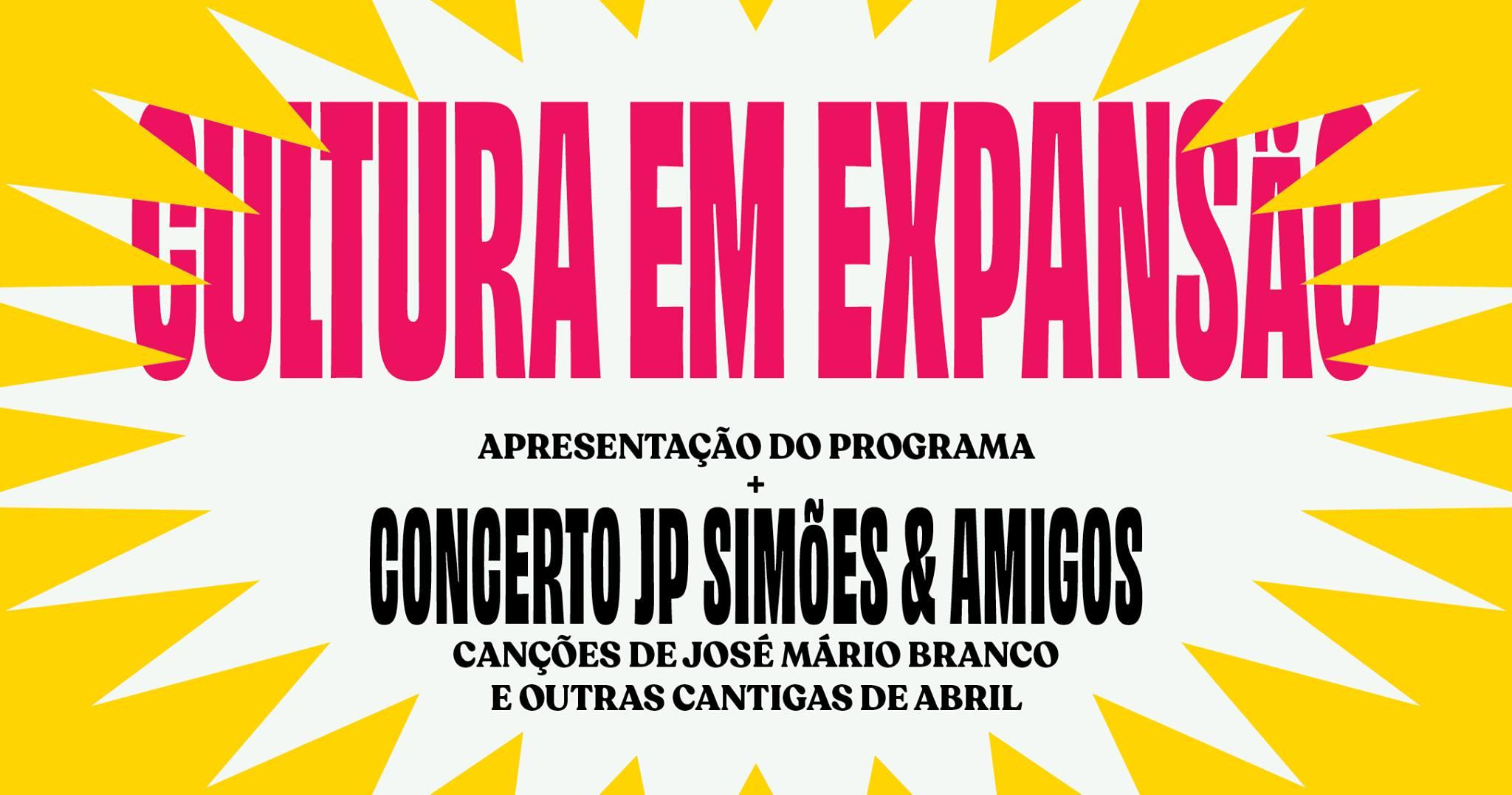 Lançamento Cultura em Expansão 2021 c/ JP Simões & Amigos