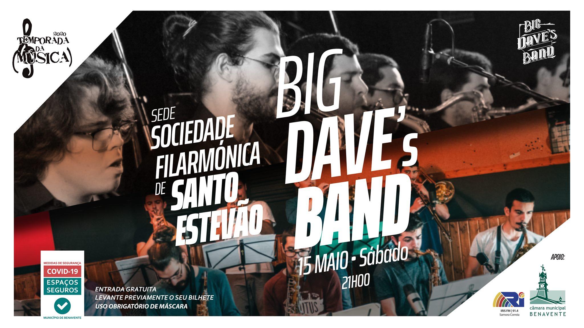 Concerto com BIG DAVE'S BAND