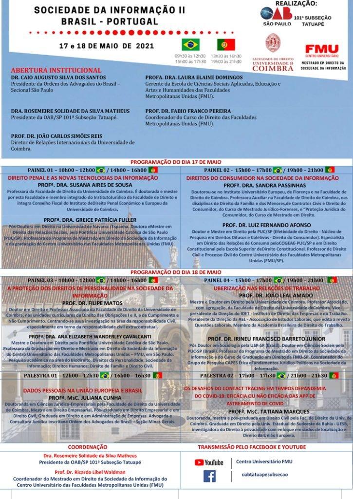 Congresso da Informação II – Brasil – Portugal