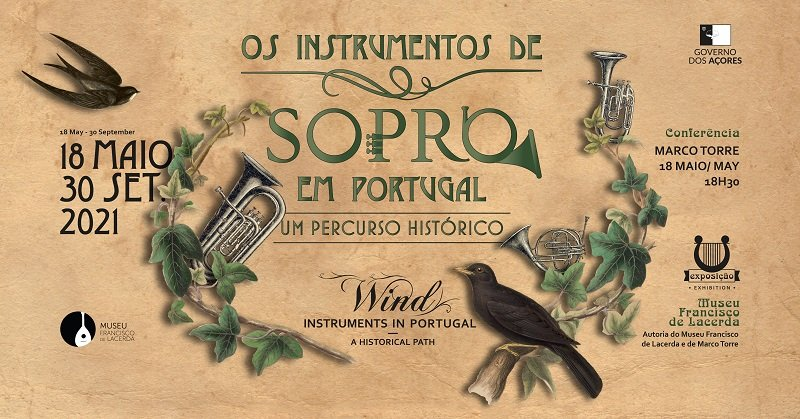 Conferência    Instrumentos de Sopro em Portugal: Um Percurso Histórico