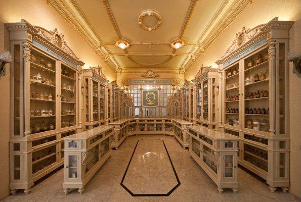 Visita noturna ao Museu da Farmácia
