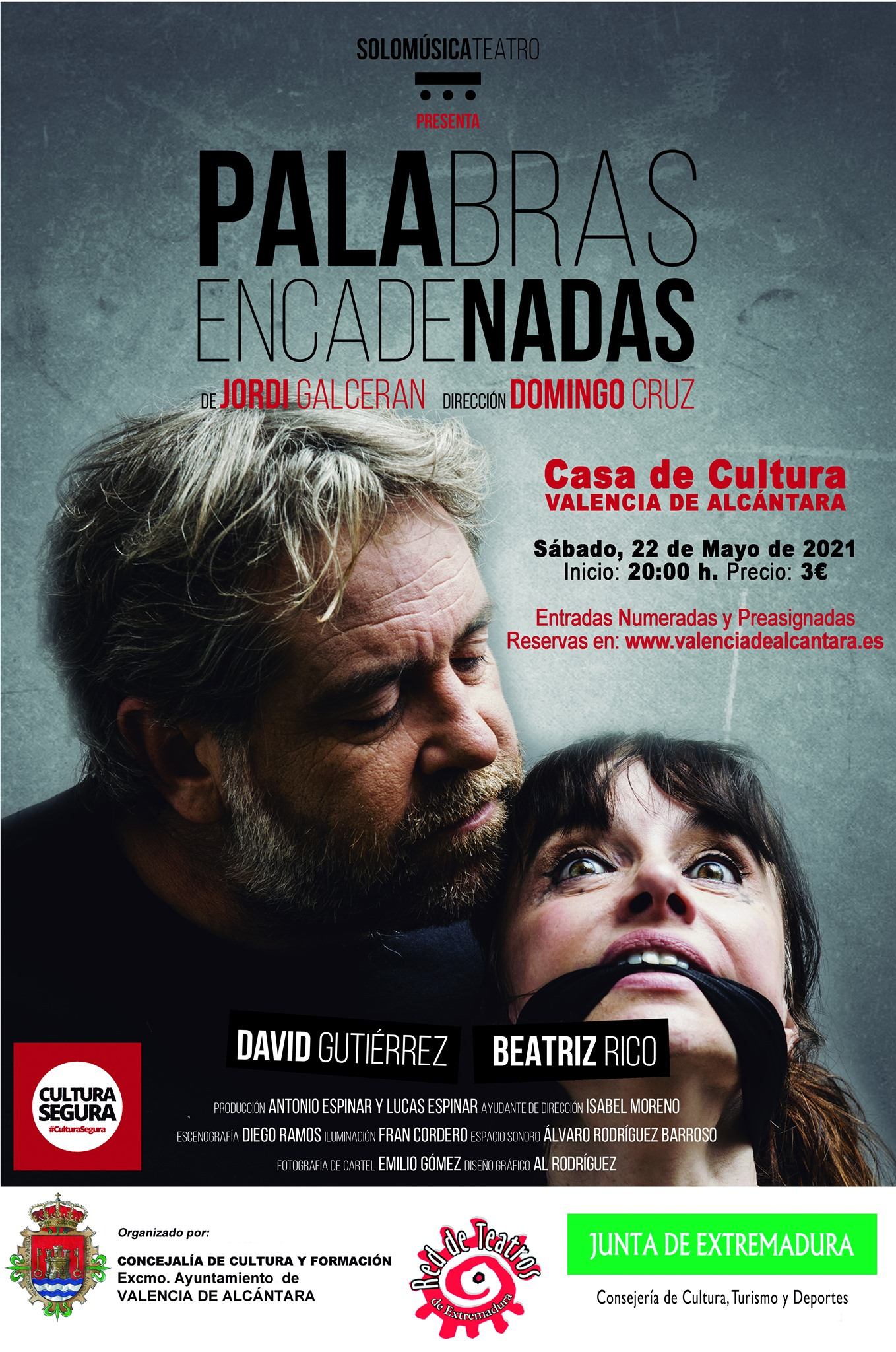 Teatro: PALABRAS ENCADENADAS
