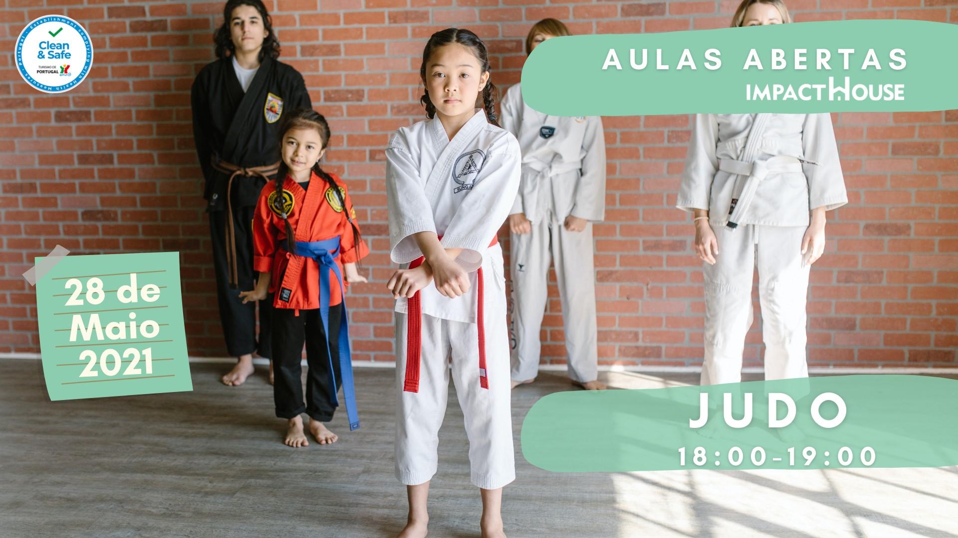 Aula Aberta - Judo para Famílias