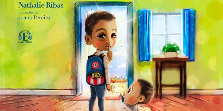 'O Meu Amigo Secreto'   Apresentação da obra infantil de Nathalie Ribas