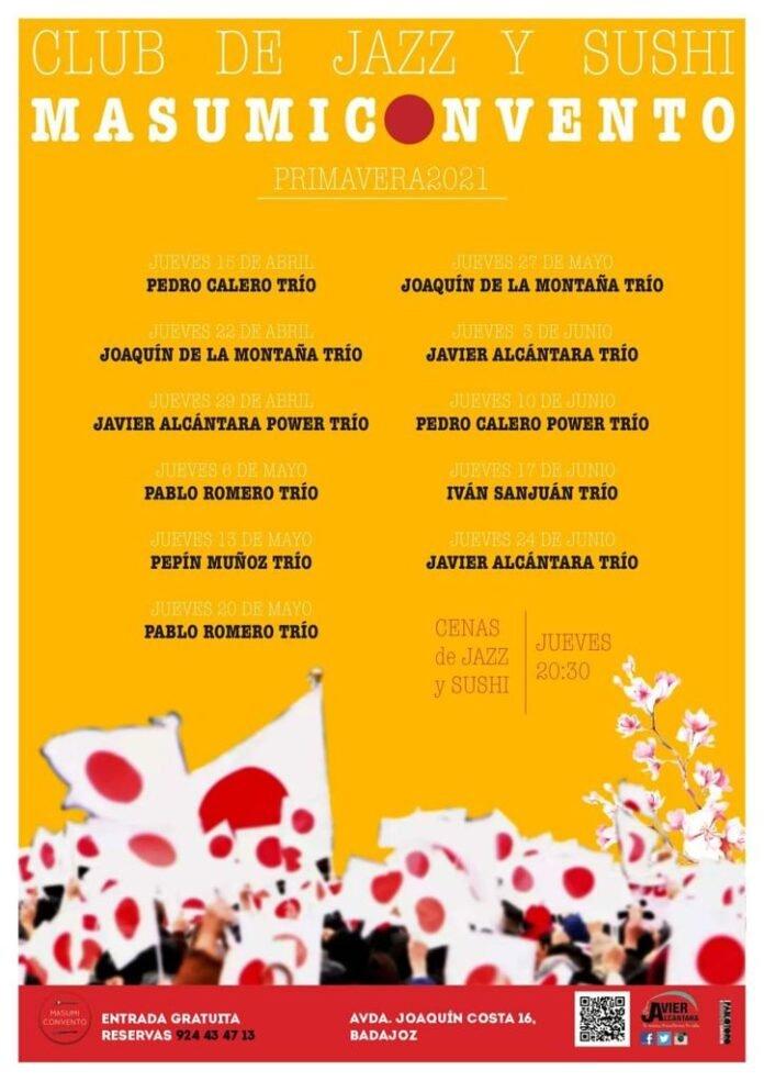 Club de jazz y sushi Masumi Convento | Javier Alcántara Trío