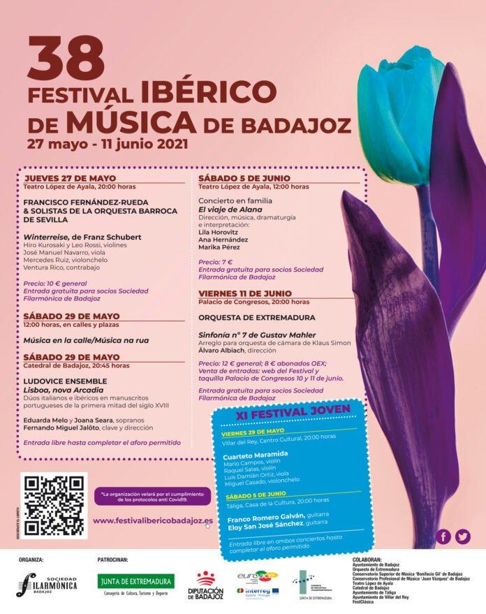 Sinfonía nº 7, de Gustav Mahler   38 Festival Ibérico de Música de Badajoz