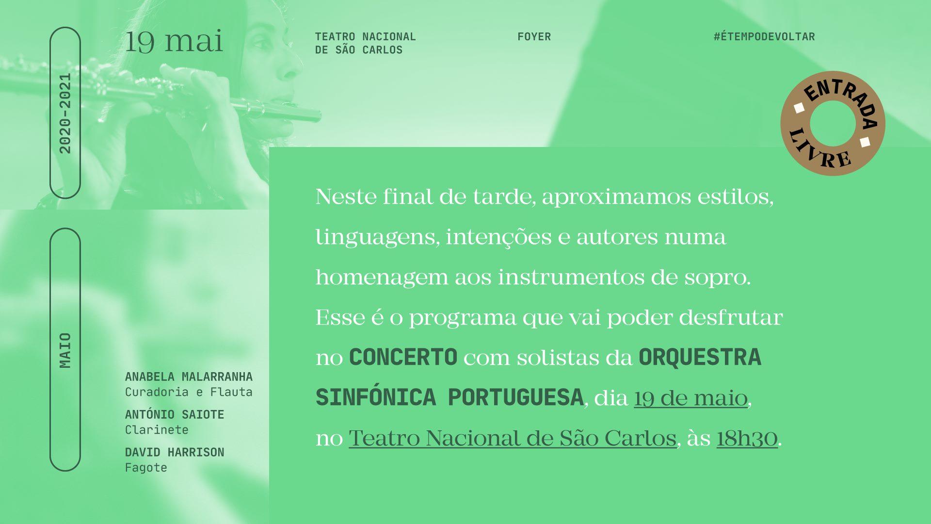 Concerto Solistas da Orquestra Sinfónica Portuguesa