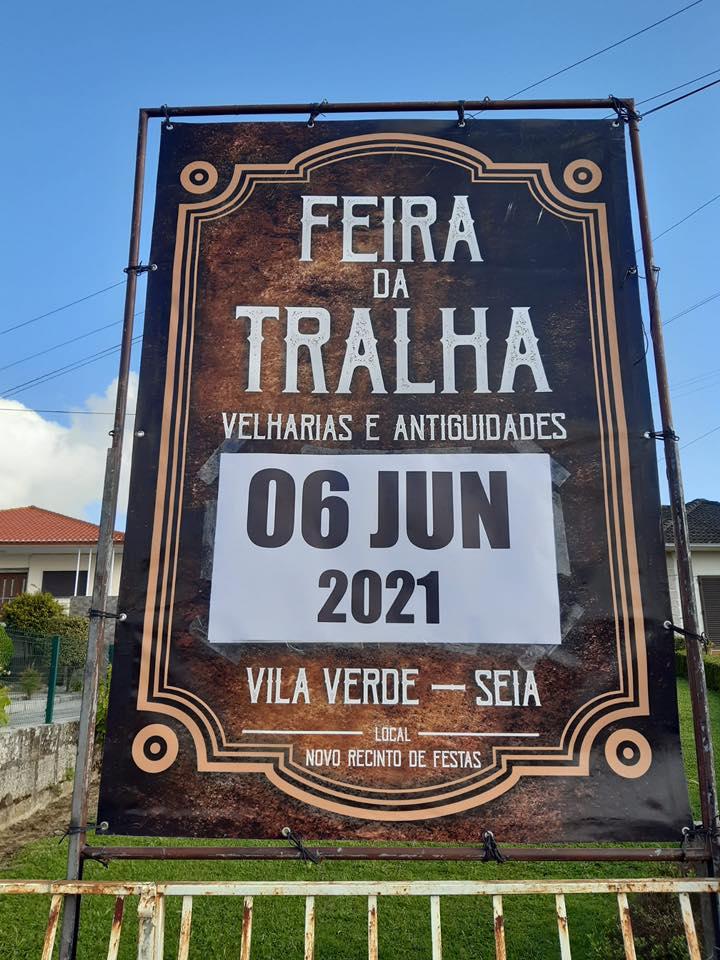 Feira da Tralha - Junho/2021