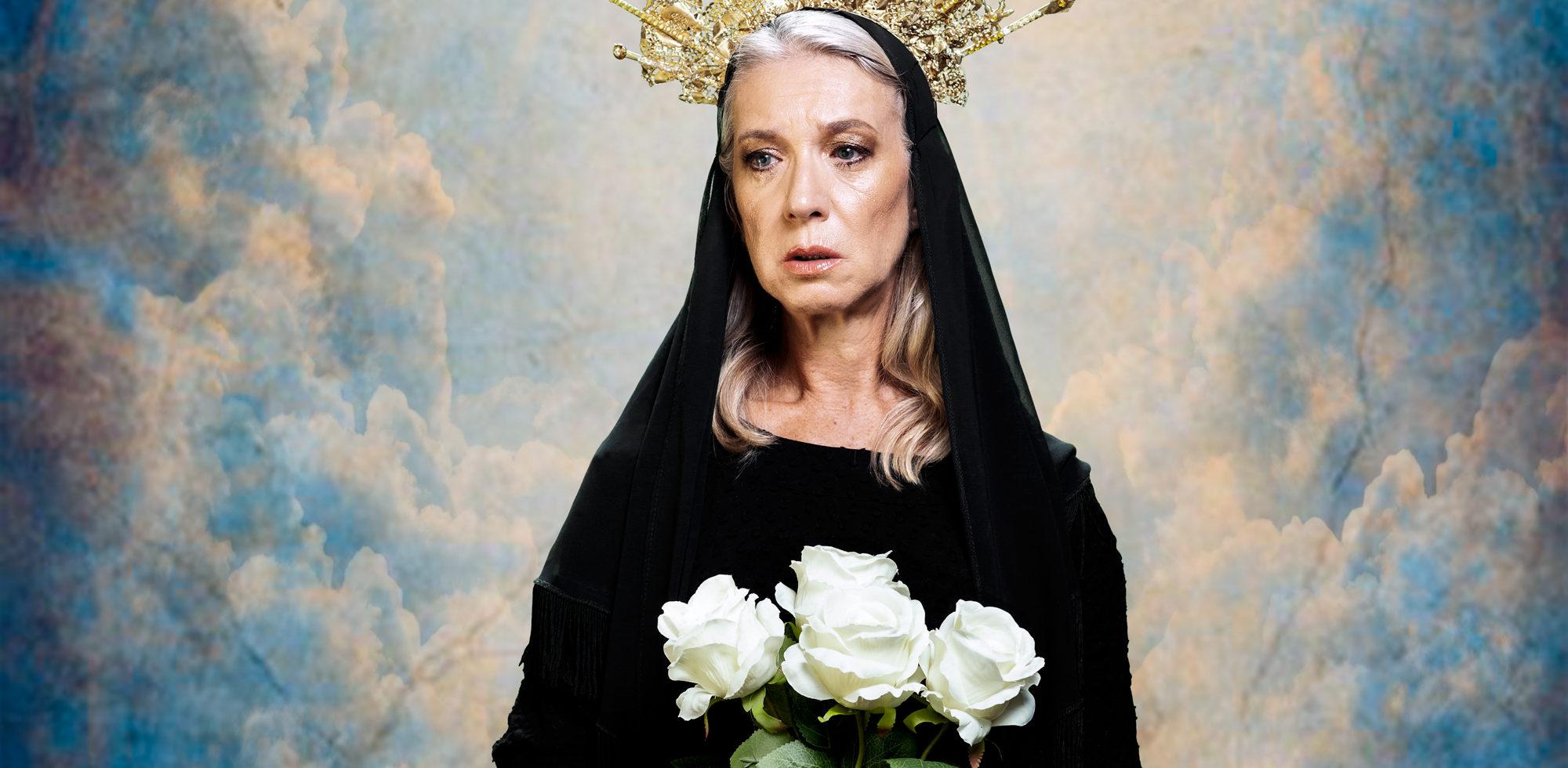 Teatro 'Maria, a Mãe', Custódia Gallego, Elmano Sancho, João Gaspar, Lucília Raimundo