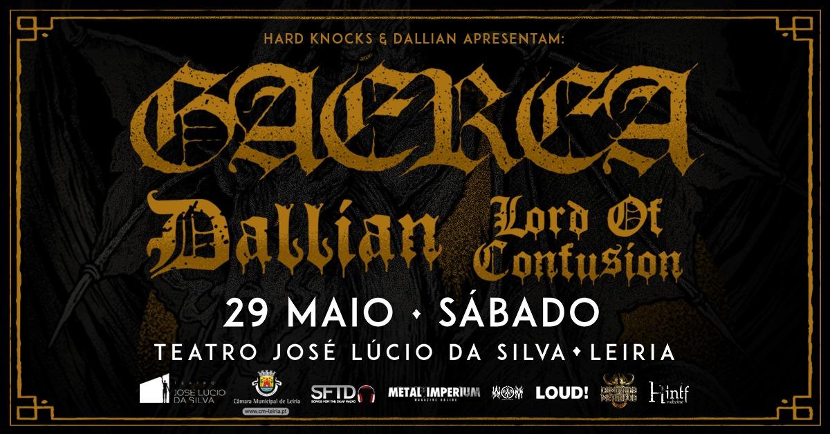 Gaerea x Dallian x Lord Of Confusion :: Teatro José Lúcio da Silva