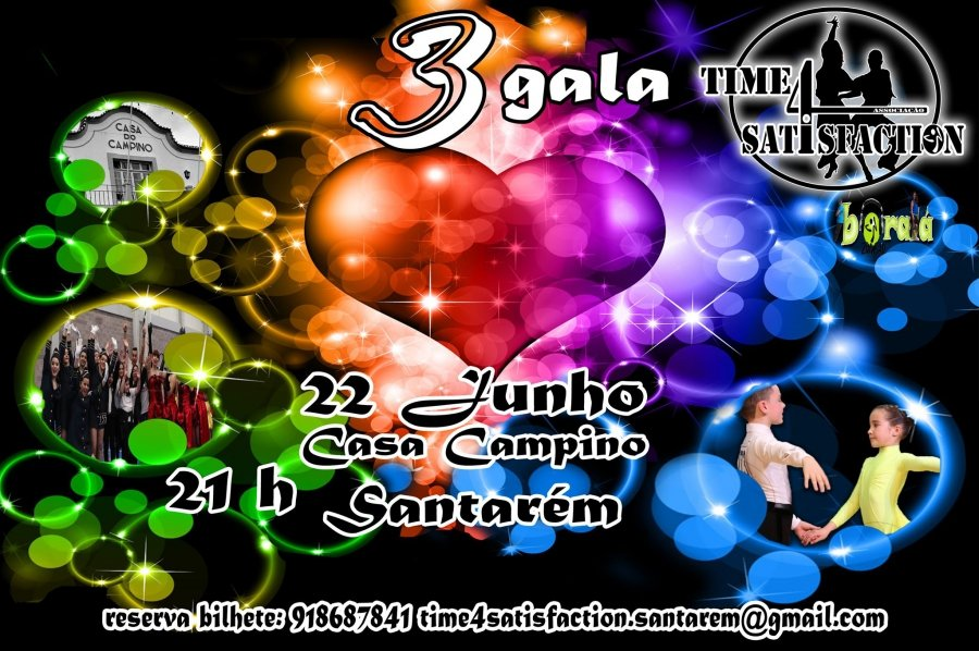 3ª Gala Time4Satisfaction - BoralaZumbar