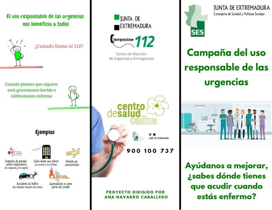 Campaña sobre el Uso responsable de las Urgencias Sanitarias