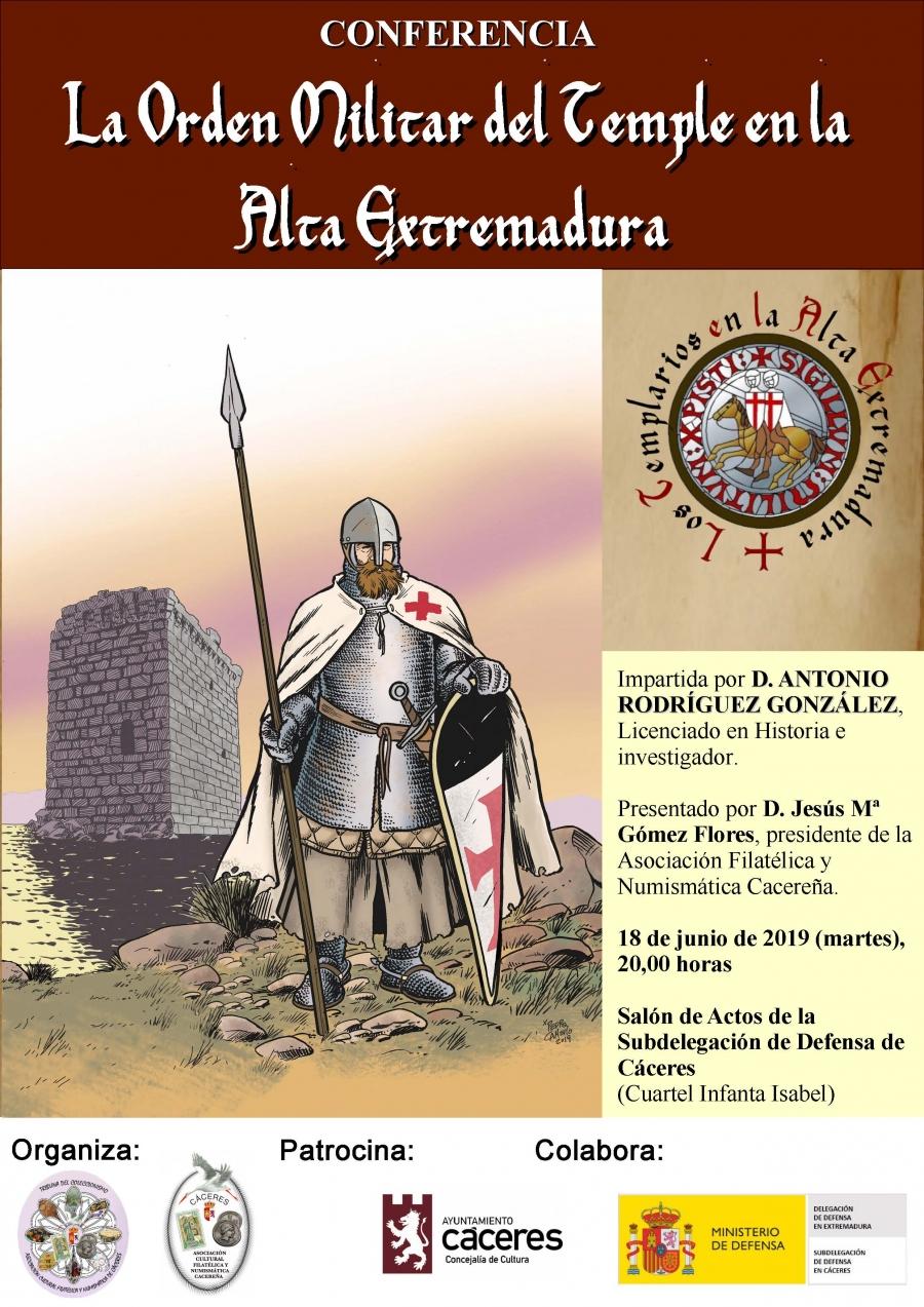 La Orden Militar del Temple en la Alta Extremadura