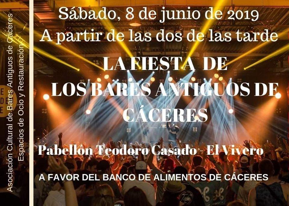 Fiesta de los Bares Antiguos de Cáceres 2019