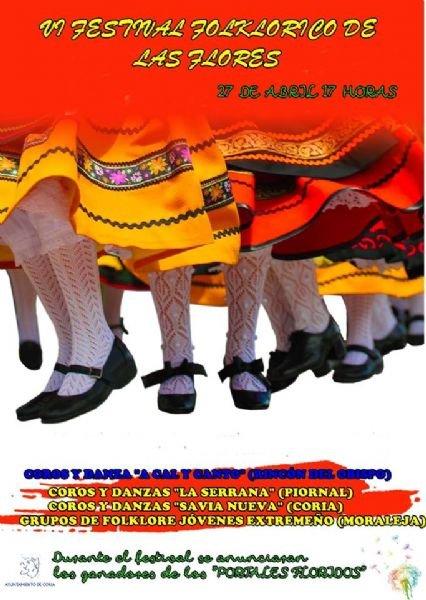 VI Festival Folklórico de las Flores