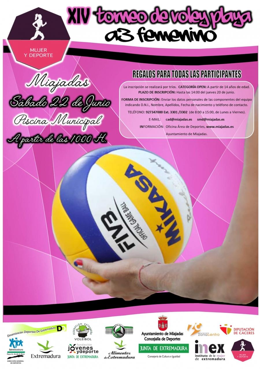 XIV Torneo de Vóley Playa A3 Femenino