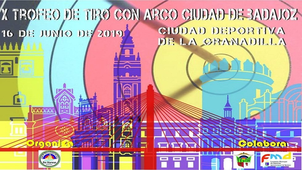 "X Trofeo ""Ciudad de Badajoz"" de tiro con arco"