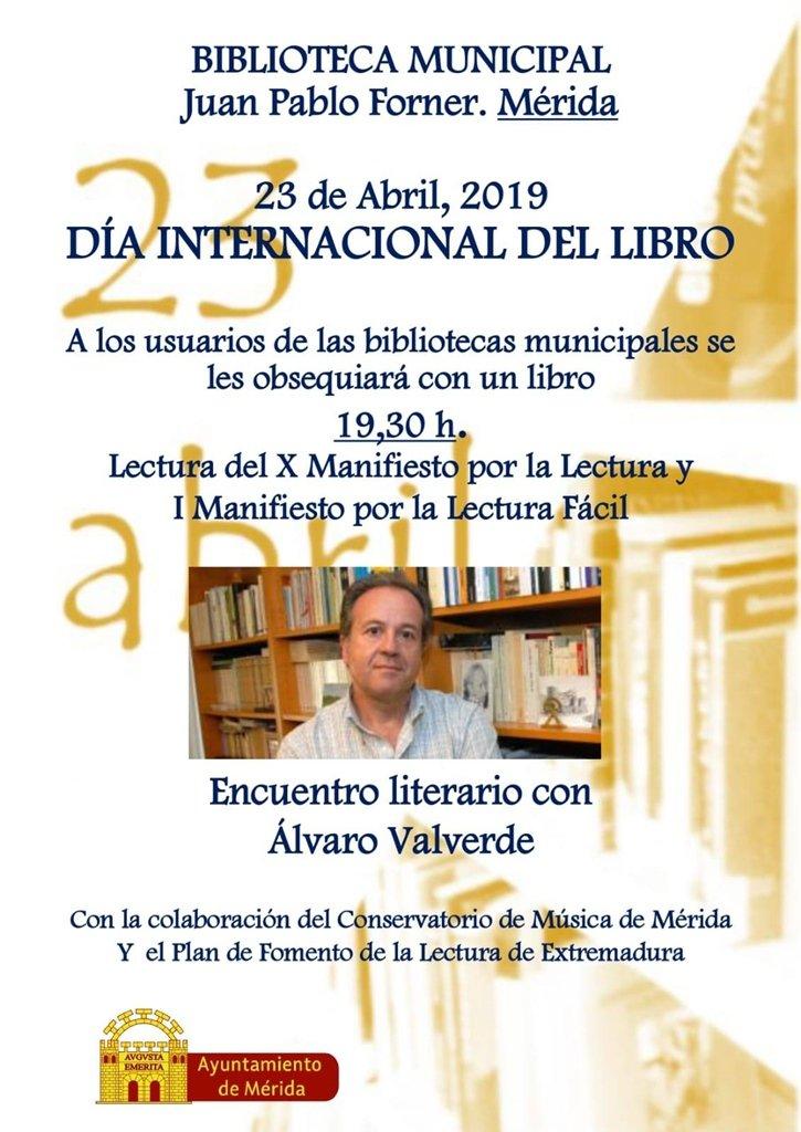 Día Internacional del Libro 2019 en la Biblioteca Municipal