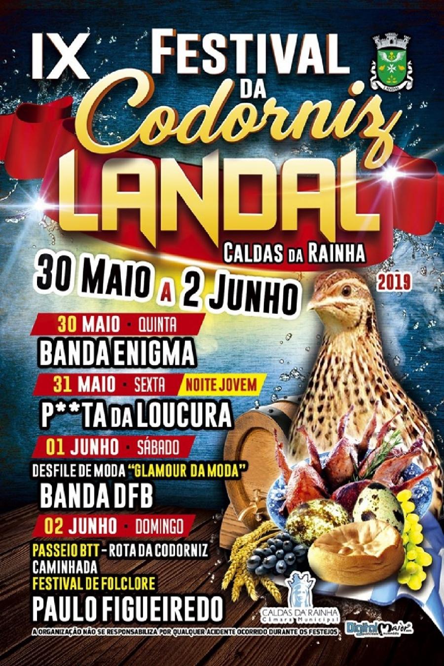 Festival Nacional da Codorniz no Landal