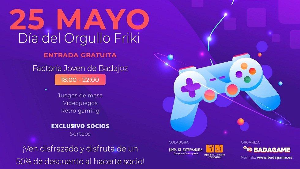 Día del Orgullo Friki - Factoría Joven Badajoz
