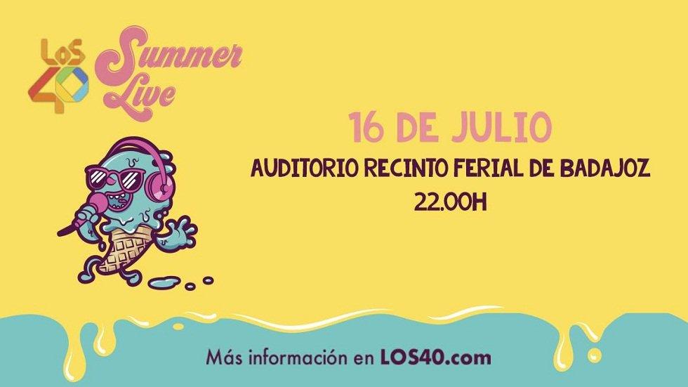 Los40 Summer Live Badajoz