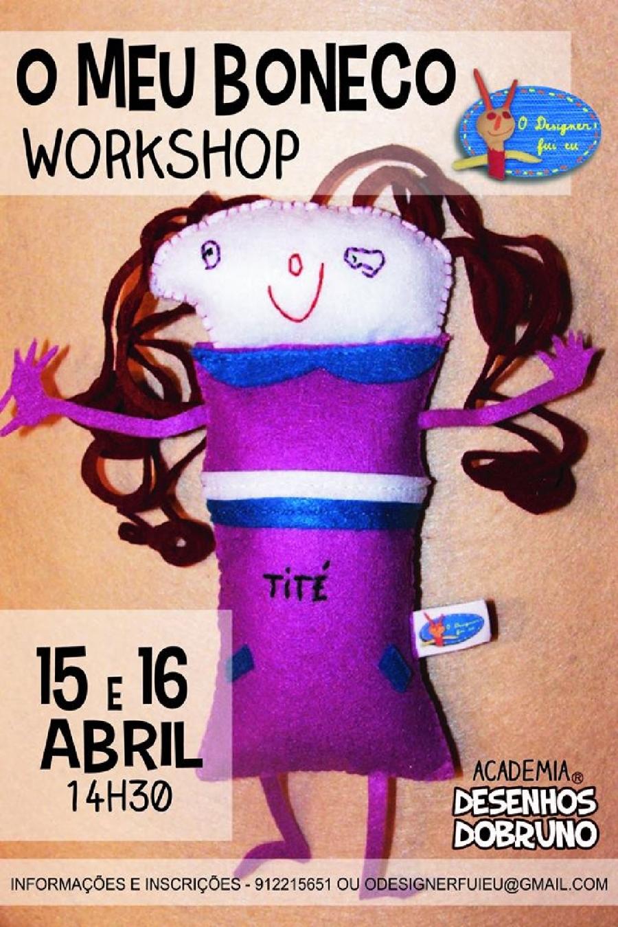 Workshop 'O meu Boneco'