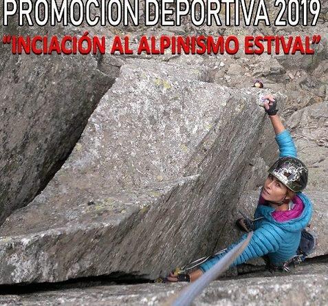 JORNADAS DE INICIACIÓN AL ALPINISMO ESTIVAL DE FOMENTO FEMENINO EL 4 Y 5 DE MAYO DE 2019