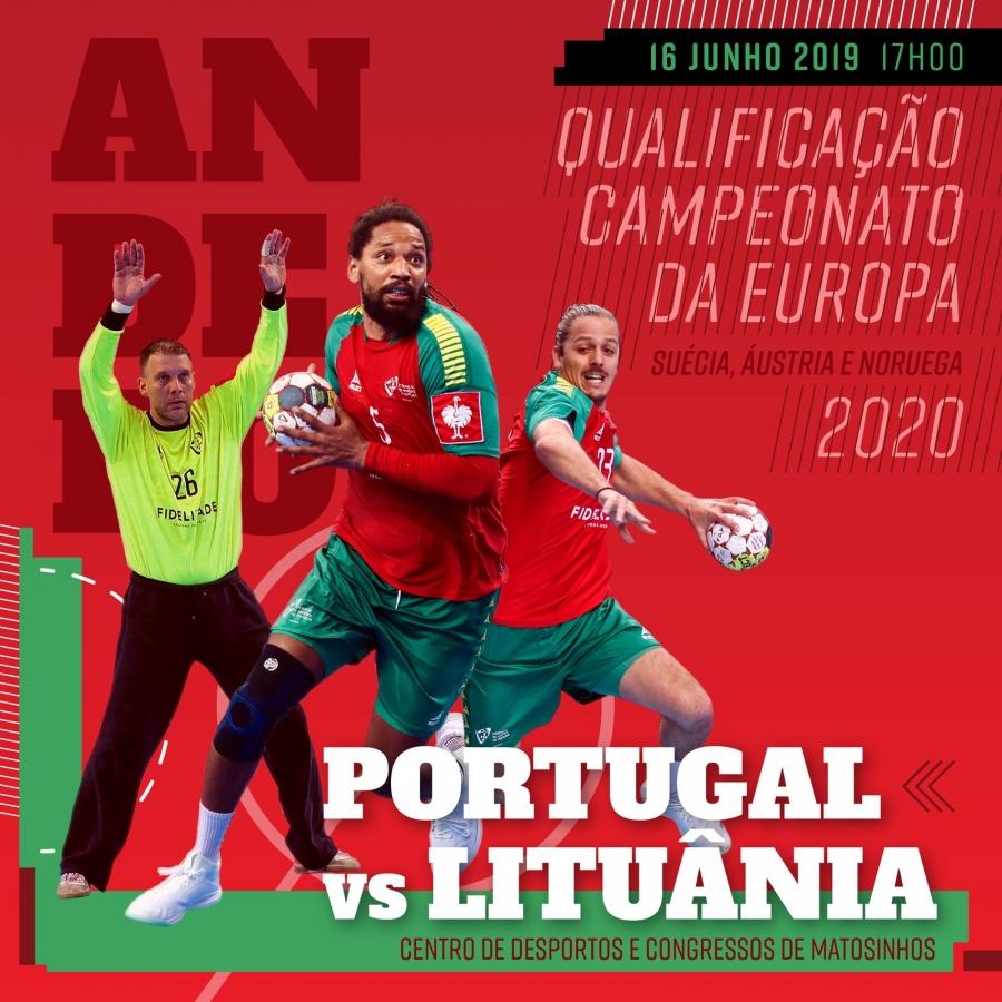 Portugal vs Lituânia