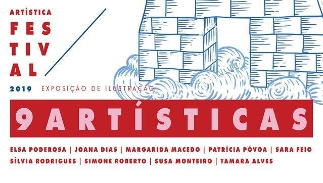"""Exposição """"9 Artísticas"""""""
