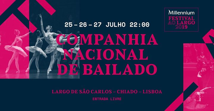 Companhia Nacional de Bailado - 11.º Festival ao Largo