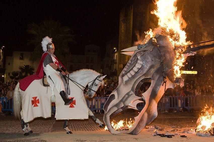Desfile San Jorge de Cáceres