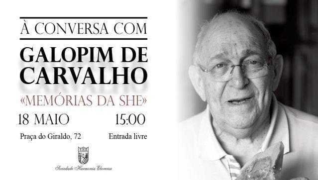 À Conversa com Galopim de Carvalho: «Memórias da SHE» /\ SHE