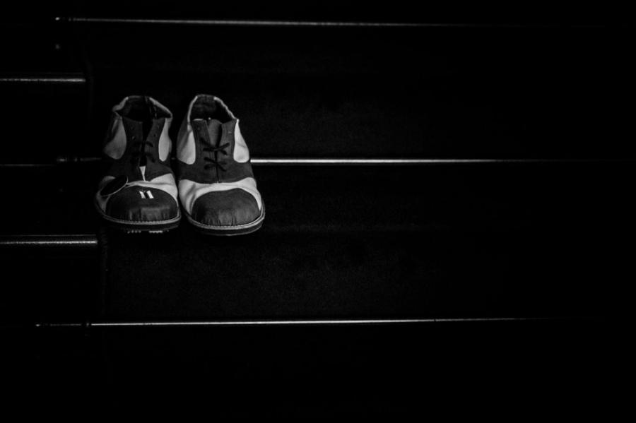 Os sapatos do Sr. Luiz