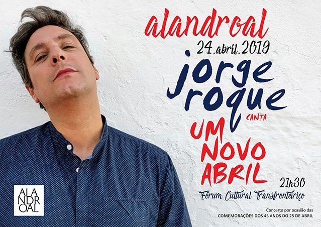 """Jorge Roque canta """"Um Novo Abril"""""""