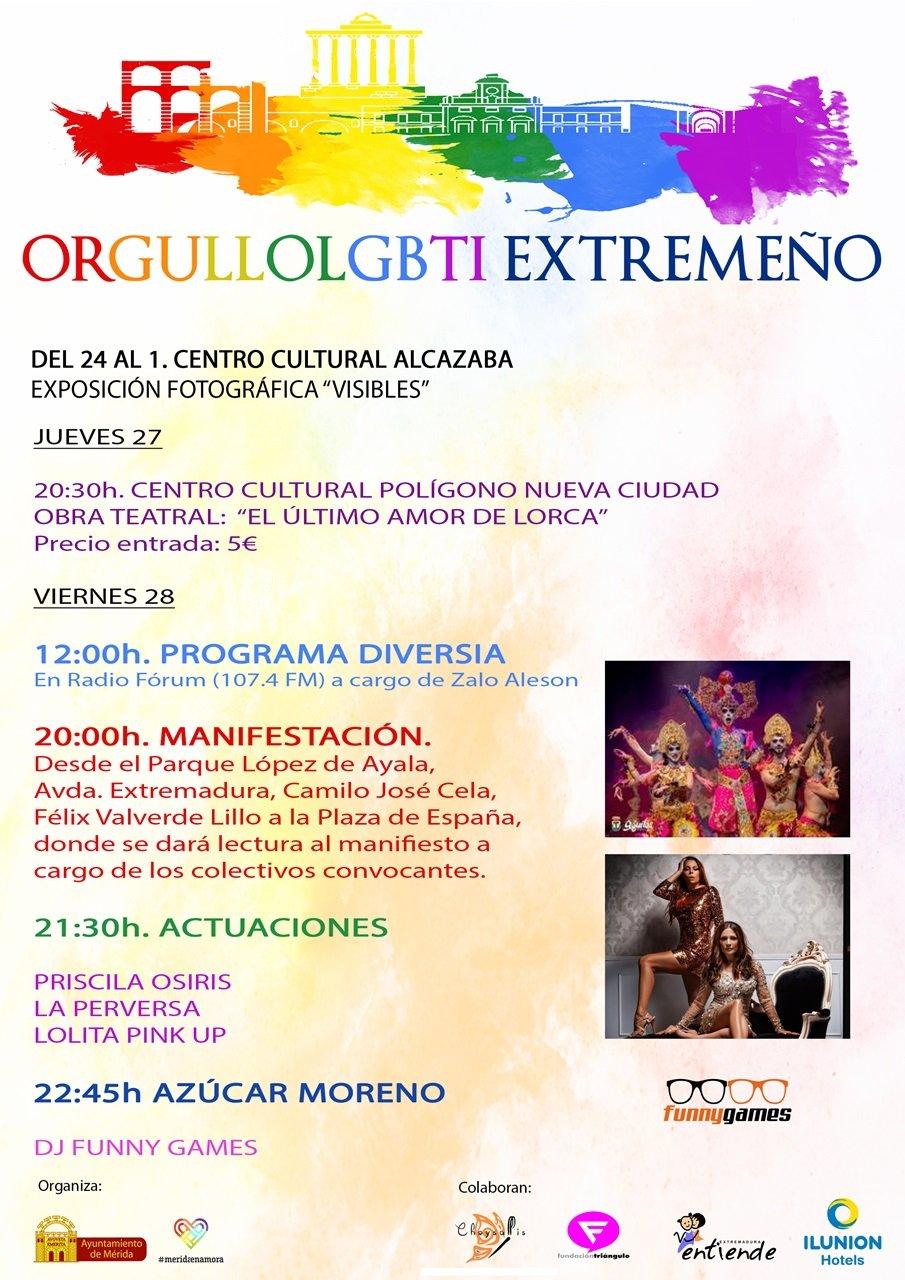 Orgullo LGBTI Extremeño 2019