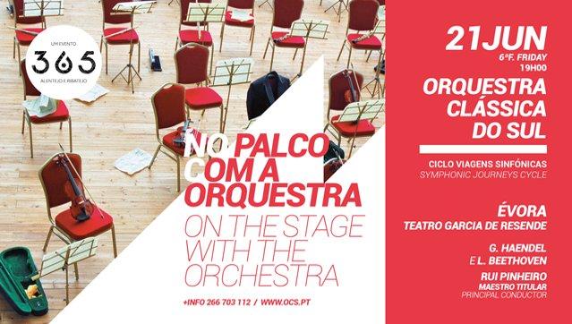 No Palco com a Orquestra | Concertos Promenade