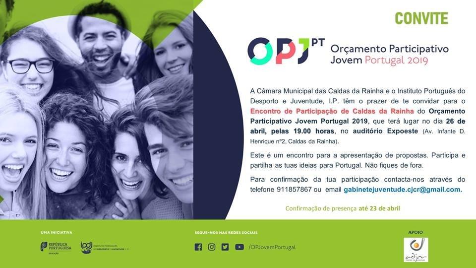 Orçamento Participativo Jovem Portugal 2019