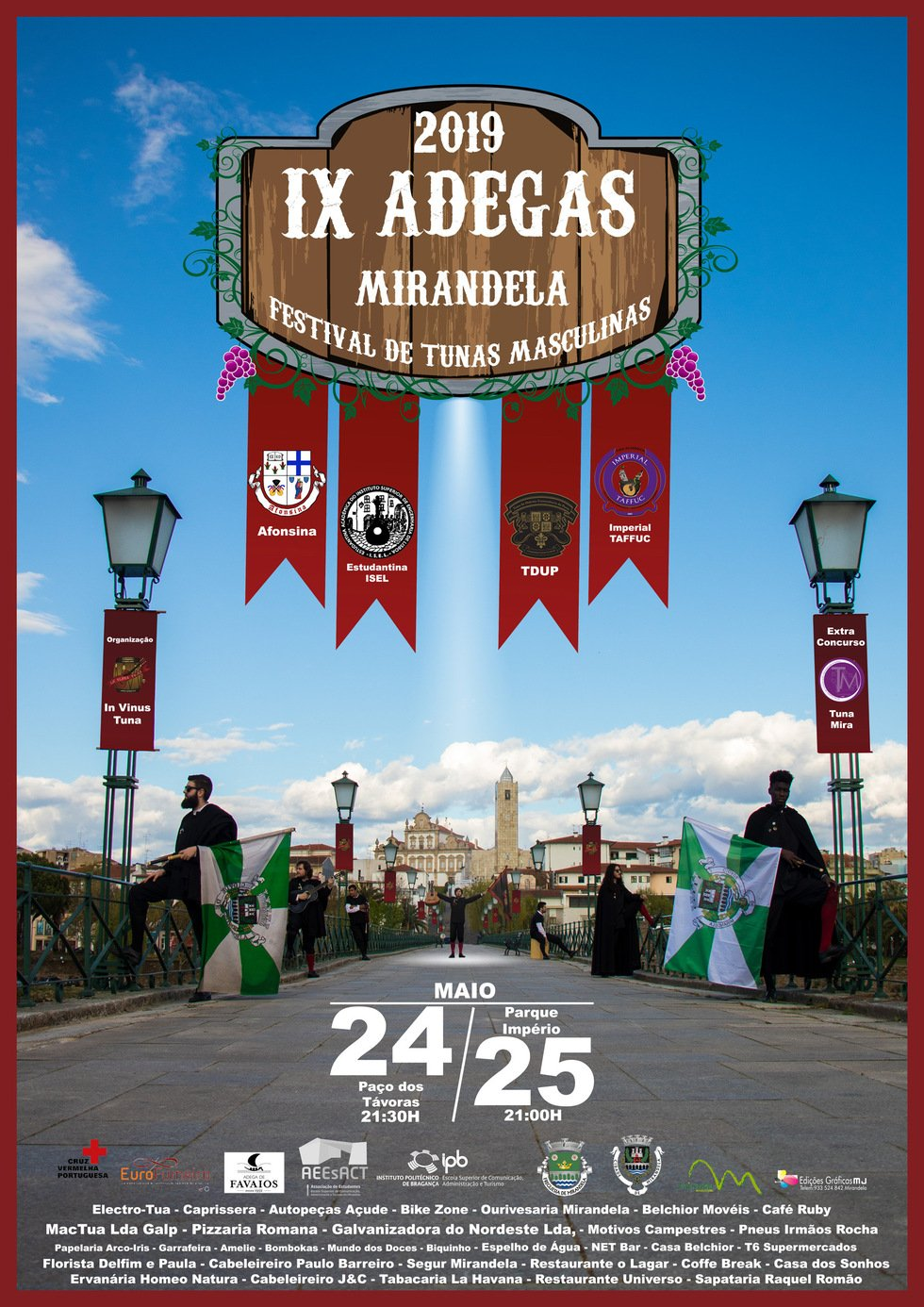 IX Adegas - Festival de Tunas Masculinas
