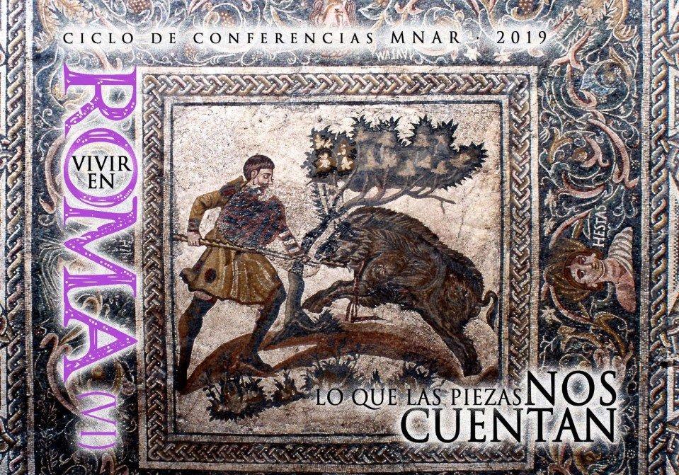 """Ciclo de conferencias Vivir en Roma VI: """"Un recorrido por la colección de cerámica del MNAR"""""""