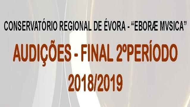 Audições - Final 2º período